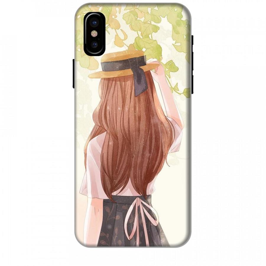Ốp lưng dành cho điện thoại iPhone XR - X/XS - XS MAX - Phía Sau Một Cô Gái