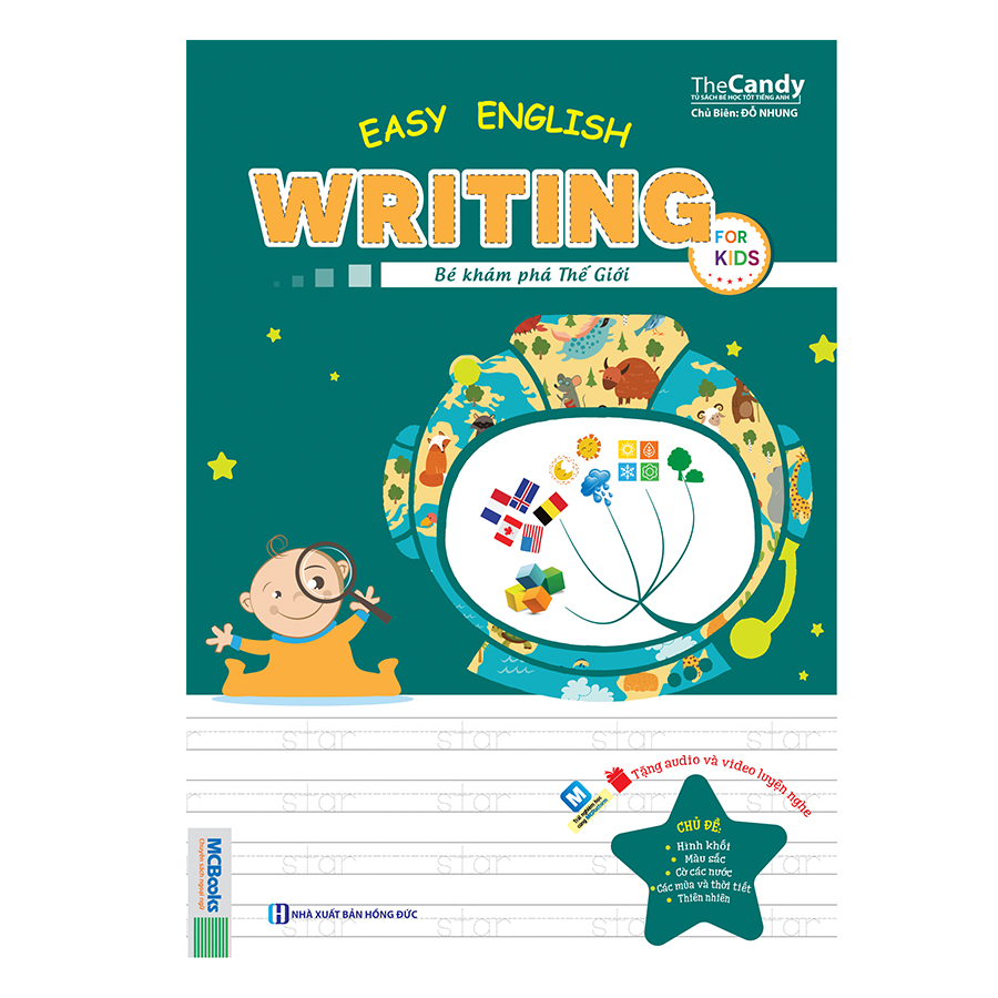 Easy English Writing For Kid – Bé Khám Phá Thế Giới