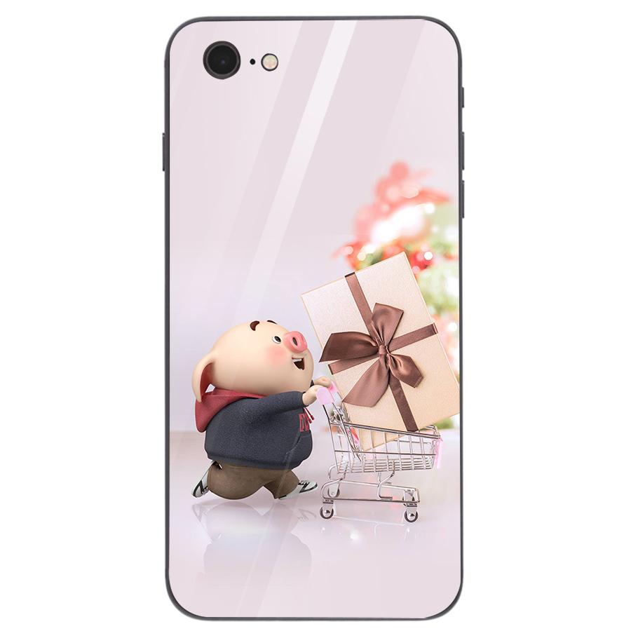 Ốp kính cường lực dành cho điện thoại iPhone 7/8 - heo hồng - hh085 - 1739264 , 9136605719434 , 62_13627045 , 209000 , Op-kinh-cuong-luc-danh-cho-dien-thoai-iPhone-7-8-heo-hong-hh085-62_13627045 , tiki.vn , Ốp kính cường lực dành cho điện thoại iPhone 7/8 - heo hồng - hh085