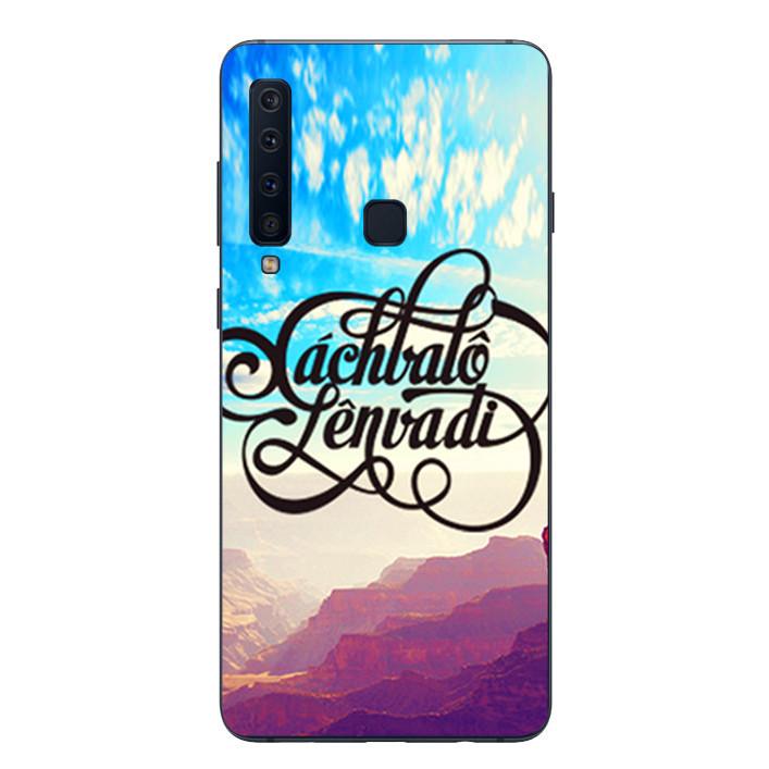 Ốp lưng Dẻo Cho Samsung Galaxy A9 2018 - Mẫu 66