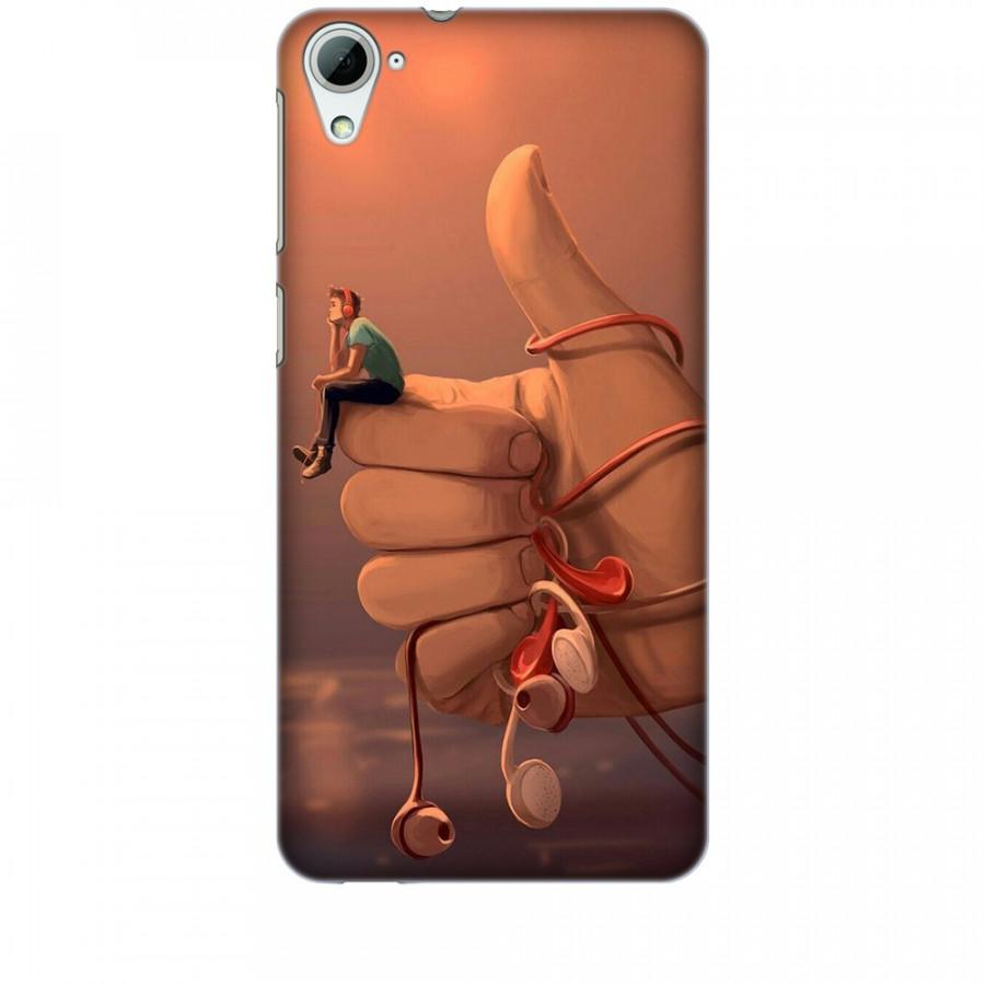 Ốp lưng dành cho điện thoại HTC 820 Cô Đơn Mình Anh