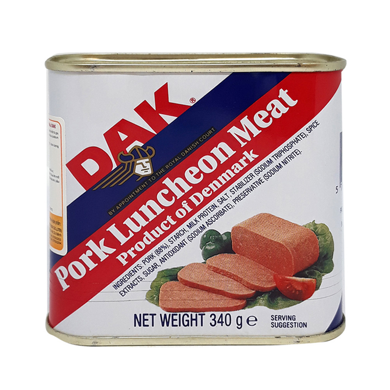 Patê Thịt Heo Luncheon Meat Dak (340g) - 7246753 , 8614305743542 , 62_14672989 , 81000 , Pate-Thit-Heo-Luncheon-Meat-Dak-340g-62_14672989 , tiki.vn , Patê Thịt Heo Luncheon Meat Dak (340g)