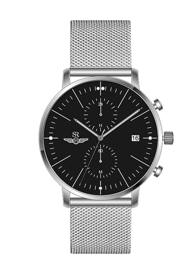 Đồng hồ Nam dây lưới kim loại  SG5541.1101