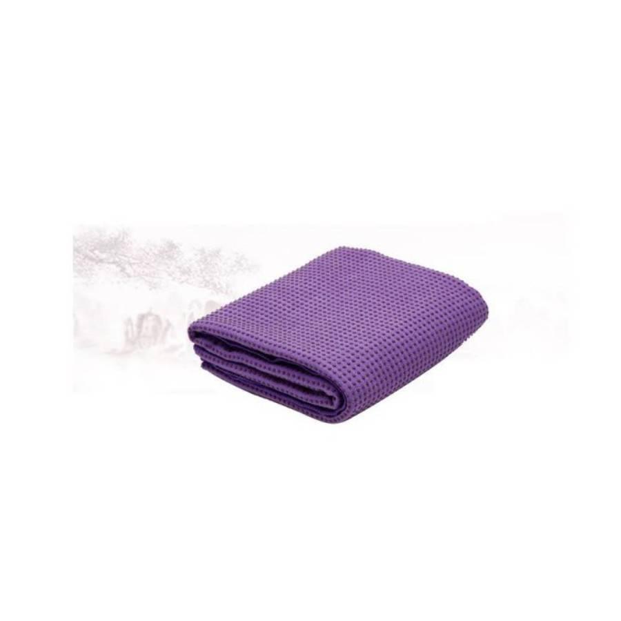 Khăn trải thảm Yoga phủ hạt Silicon êm mượt (Màu tím) - 9603447 , 9520539176645 , 62_17947177 , 380000 , Khan-trai-tham-Yoga-phu-hat-Silicon-em-muot-Mau-tim-62_17947177 , tiki.vn , Khăn trải thảm Yoga phủ hạt Silicon êm mượt (Màu tím)