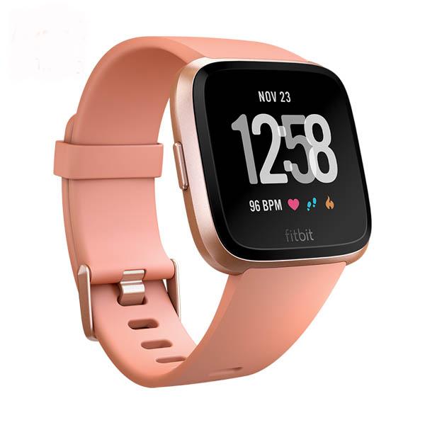 Đồng hồ thông minh Fitbit Versa - Peach/Rose Gold - Hàng Chính Hãng - 970039 , 2085267030555 , 62_10274953 , 6000000 , Dong-ho-thong-minh-Fitbit-Versa-Peach-Rose-Gold-Hang-Chinh-Hang-62_10274953 , tiki.vn , Đồng hồ thông minh Fitbit Versa - Peach/Rose Gold - Hàng Chính Hãng