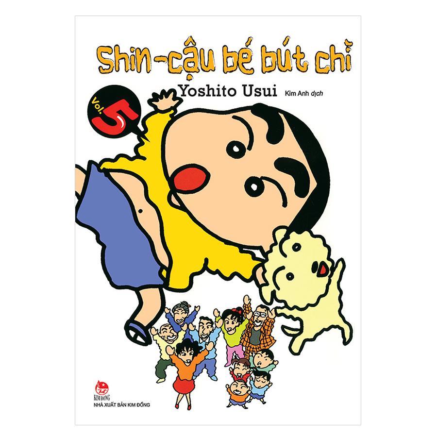 Shin - Cậu Bé Bút Chì Tập 5 (Tái Bản 2019)