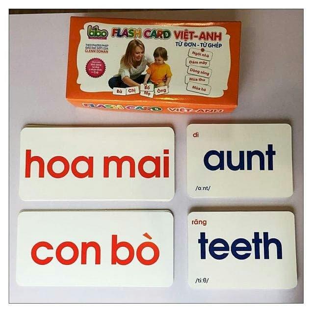 Thẻ flash card song ngữ Việt - Anh từ đơn từ ghép - 1161597 , 1322322582668 , 62_4628491 , 160000 , The-flash-card-song-ngu-Viet-Anh-tu-don-tu-ghep-62_4628491 , tiki.vn , Thẻ flash card song ngữ Việt - Anh từ đơn từ ghép