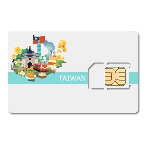MintWIFI-SIM 4G Du lịch Đài Loan tốc độ cao gói 3 ngày sử dụng, dung lượng không giới hạn