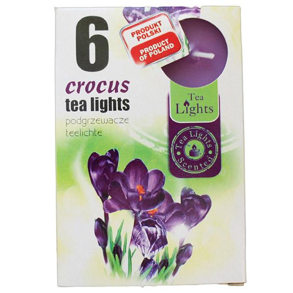 Hộp 6 nến thơm Tea lights Admit Crocus ADM0711 (Hương hoa nghệ tây)