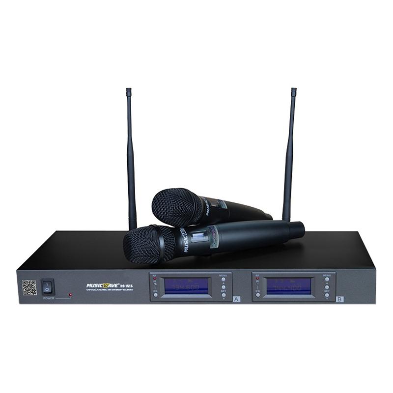 Micro Karaoke Không Dây Musicwave HS-1515 - Hàng Chính Hãng - 1870019 , 8499425173109 , 62_14273060 , 6690000 , Micro-Karaoke-Khong-Day-Musicwave-HS-1515-Hang-Chinh-Hang-62_14273060 , tiki.vn , Micro Karaoke Không Dây Musicwave HS-1515 - Hàng Chính Hãng