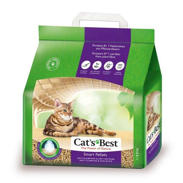 Cát Vệ Sinh Hữu Cơ Vón Cục Cho Mèo Lông Dài Smart Pellets Cat