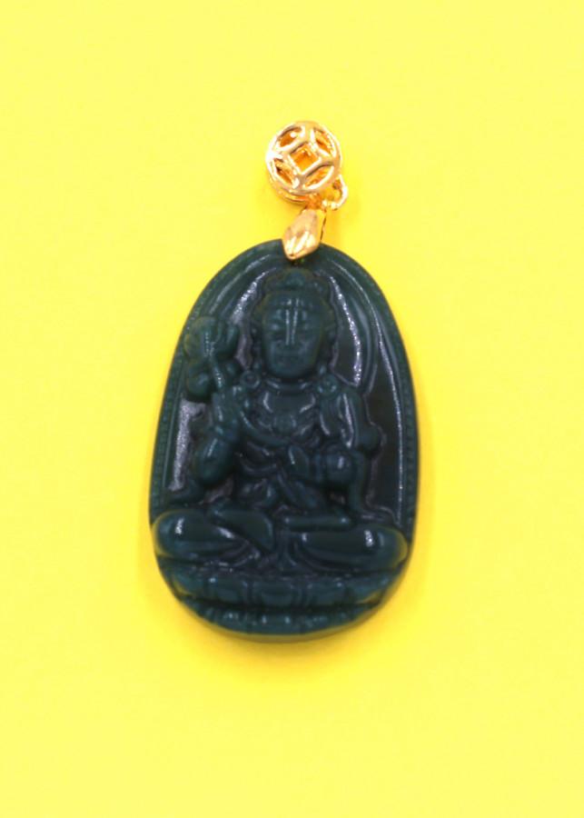 Mặt Phật Đại Thế Chí Bồ Tát đá cẩm thạch 3.6cm
