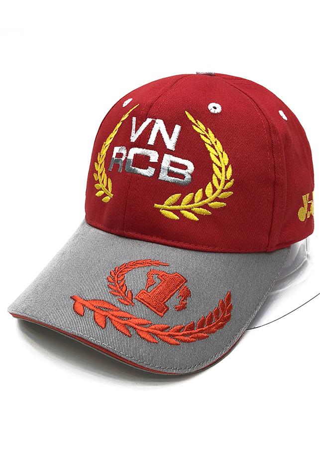Nón thể thao VN RCB Số 1 (Đỏ 012)