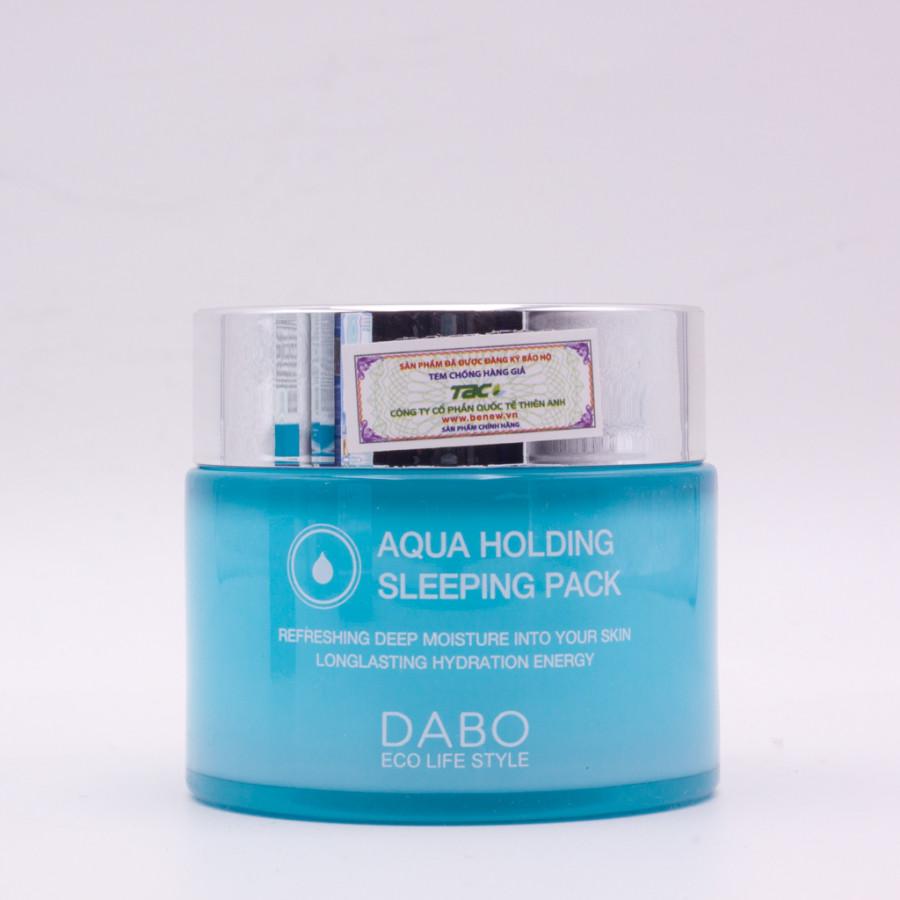 Mặt nạ ngủ dưỡng trắng - Dabo Aqua Holding Sleeping Pack (80ml)
