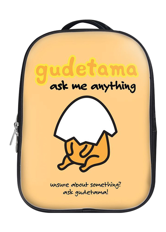 Balo Unisex In Hình Gudetama Ask Me Anything - BLCT401 - 1256599 , 5865222050524 , 62_8404554 , 480000 , Balo-Unisex-In-Hinh-Gudetama-Ask-Me-Anything-BLCT401-62_8404554 , tiki.vn , Balo Unisex In Hình Gudetama Ask Me Anything - BLCT401