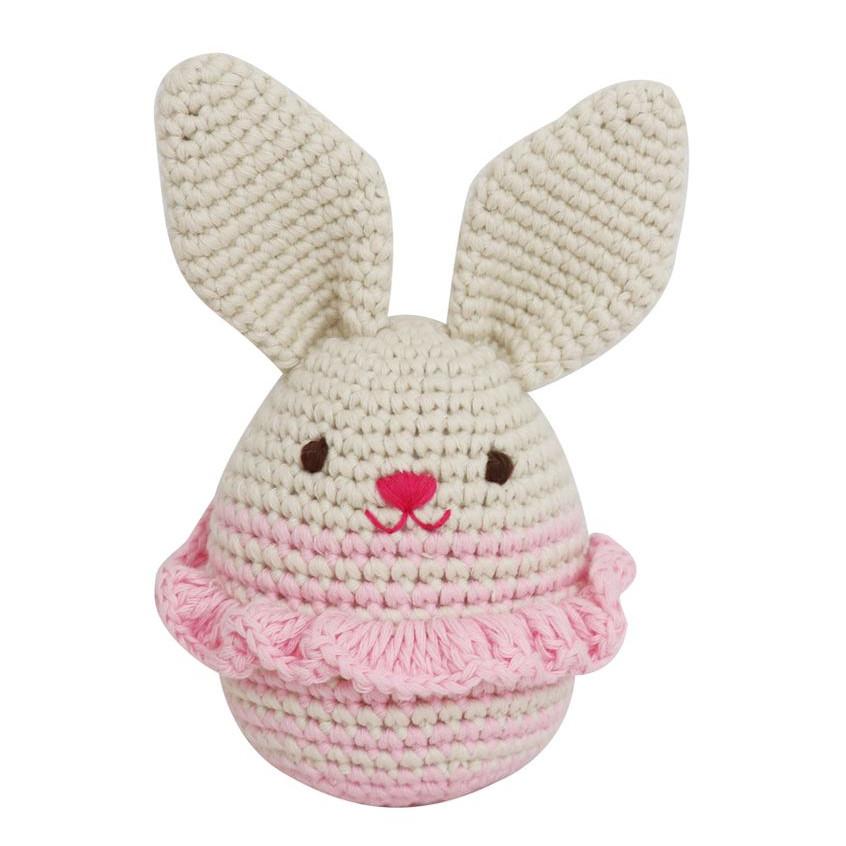 Trứng thỏ gái - Thú len Handmade Wowlen