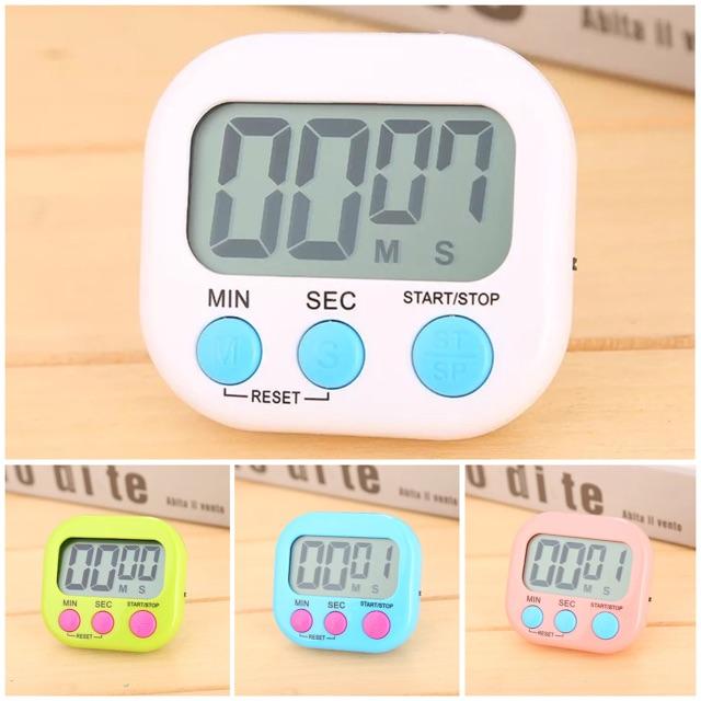 Đồng hồ đếm ngược và bấm giờ mini V2 (GIAO MÀU NGẪU NHIÊN)