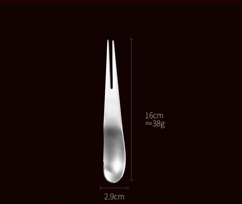Muỗng - Nĩa Đa Năng Inox 304 - 16x2.9cm 38g