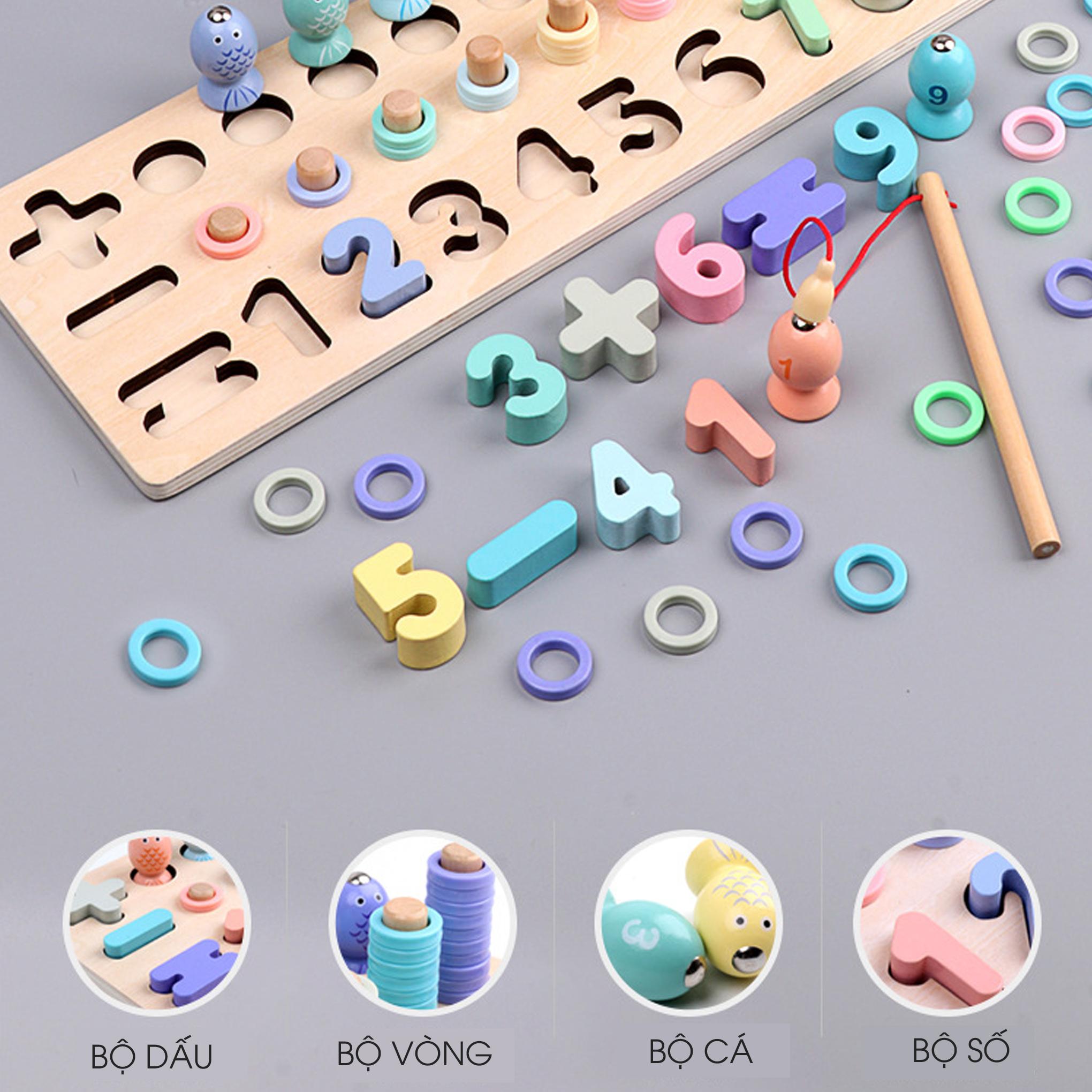 Đồ chơi trí tuệ - Đồ chơi giáo dục - Giáo cụ Montessori