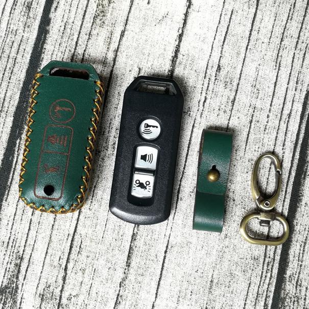 Bao da chìa khóa smartkey dành cho xe SH, SH mode, PCX, Vision 2019