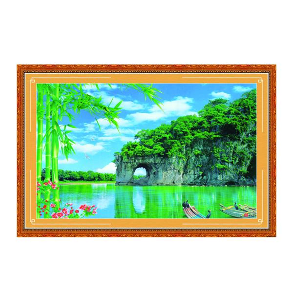 Tranh Phong Thủy Phòng Khách Q12K-ZTH(340)