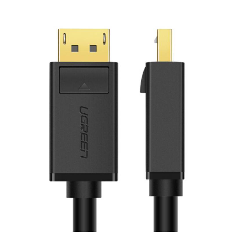 Dây cáp DisplayPort 2 đầu đực tốc độ 21.6Gbps dài 5M UGREEN DP102 10213 - Hàng chính hãng