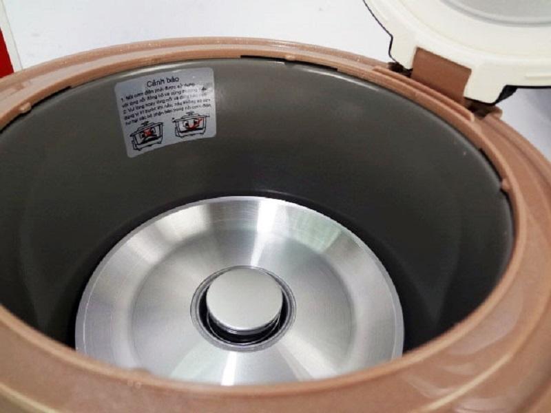 Nồi Cơm Điện 1.0L Sowun SW S651 (Nâu Sữa) - Hàng Chính Hãng
