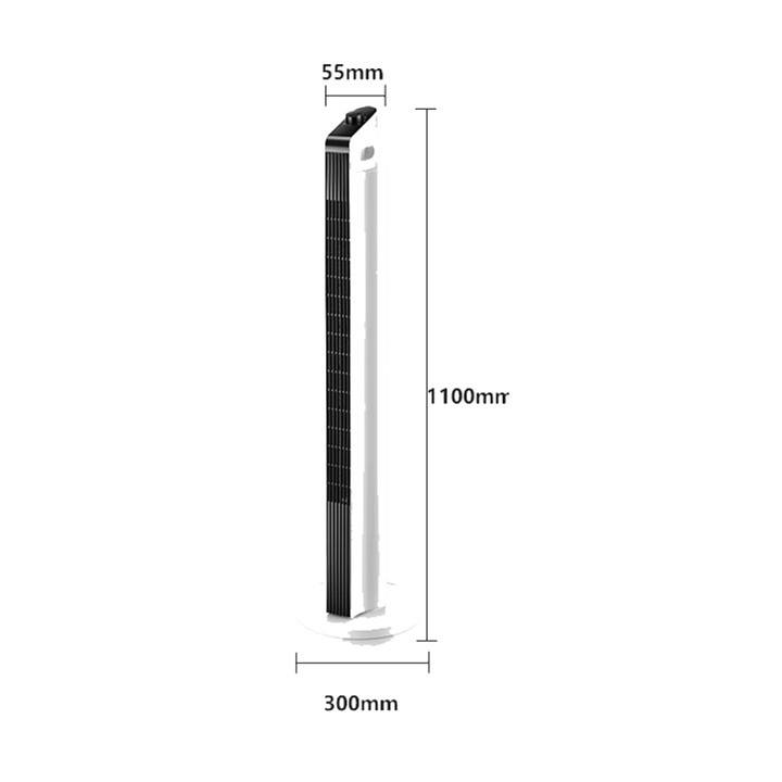 Quạt tháp điều hoà không khí , Quạt cây đứng không cánh 115cm