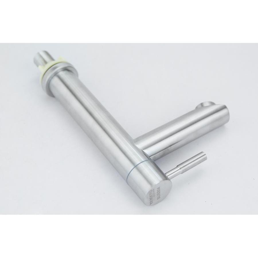 Vòi rửa chậu (lavabo) điếu lạnh tròn Inox SUS 304 Yamato LDI01