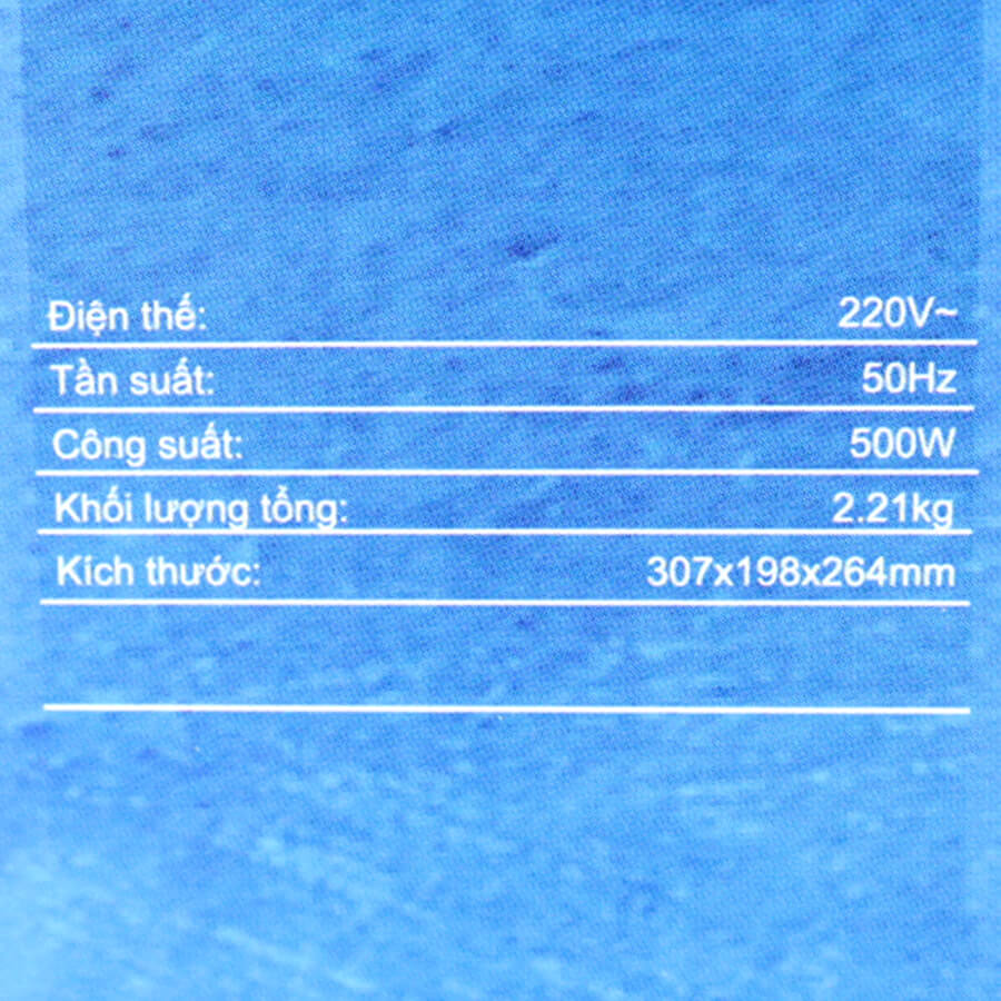 Máy xay sinh tố Midea MJ-BL50 500W - Hàng chính hãng