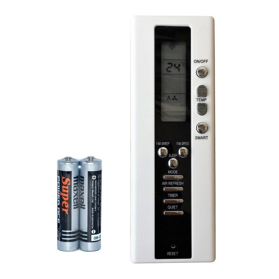 Remote Điều Khiển Cho Máy Lạnh, Máy Điều Hòa ALASKA (Kèm Pin AAA Maxell)
