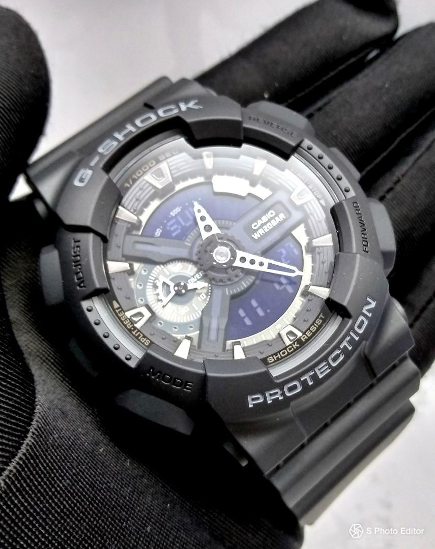 Đồng hồ nam dây nhựa Casio G-SHOCK GA-110-1BDR