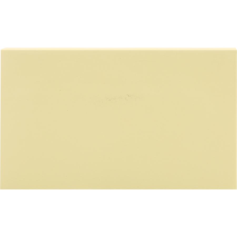 Bộ 2 Xấp Giấy Note Vàng Baoke 1007 - 127 x 76 mm (100 sheets/Xấp)