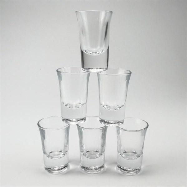 Bộ 6 ly uống rượu thủy tinh đế cao GS0039