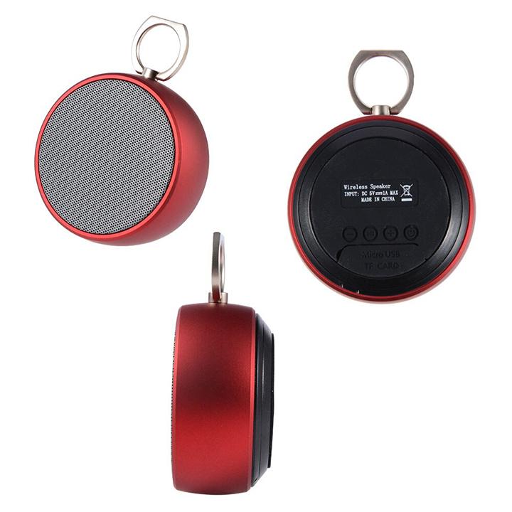Loa Bluetooth BS02 - Nhỏ nhắn xinh xắn có móc treo