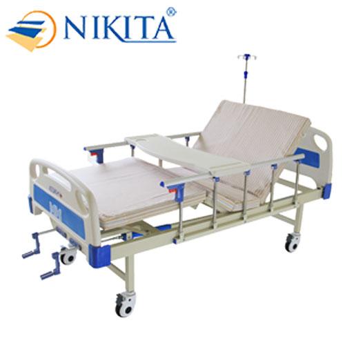 Giường bệnh y tế cao cấp đa chức năng - DCN02 chính hãng NIKITA - Chức năng nâng đầu - Nâng chân