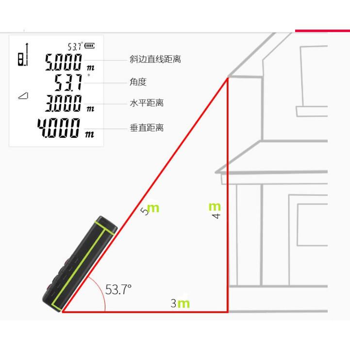 Thước đo khoảng cách laser SND WAY SW-M40