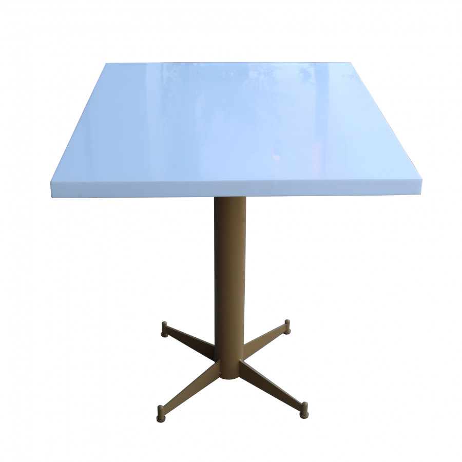 Mặt Bàn Vuông Đá Nhân tạo Solid Surface Montelli