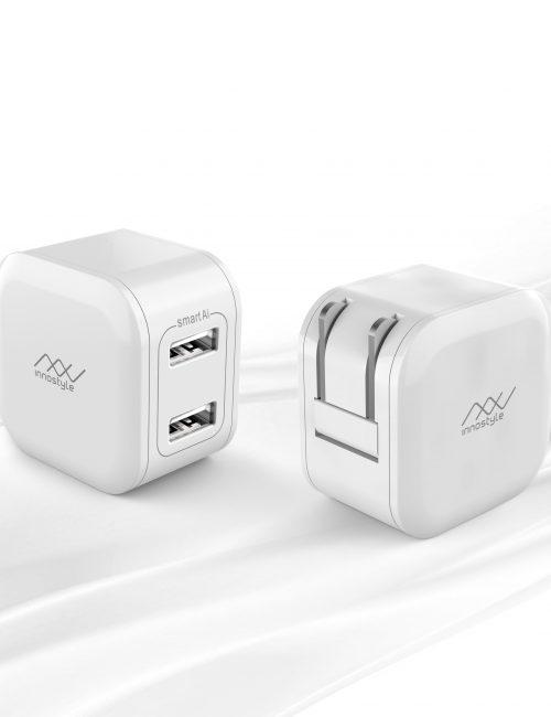 SẠC INNOSTYLE MINIGO 2 USB A 12W SMART AI CHARGING - Hàng Nhập Khẩu
