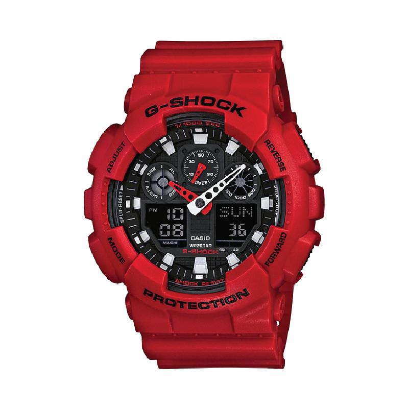 Đồng hồ Casio Nam G Shock GA-100B-4ADR-TH