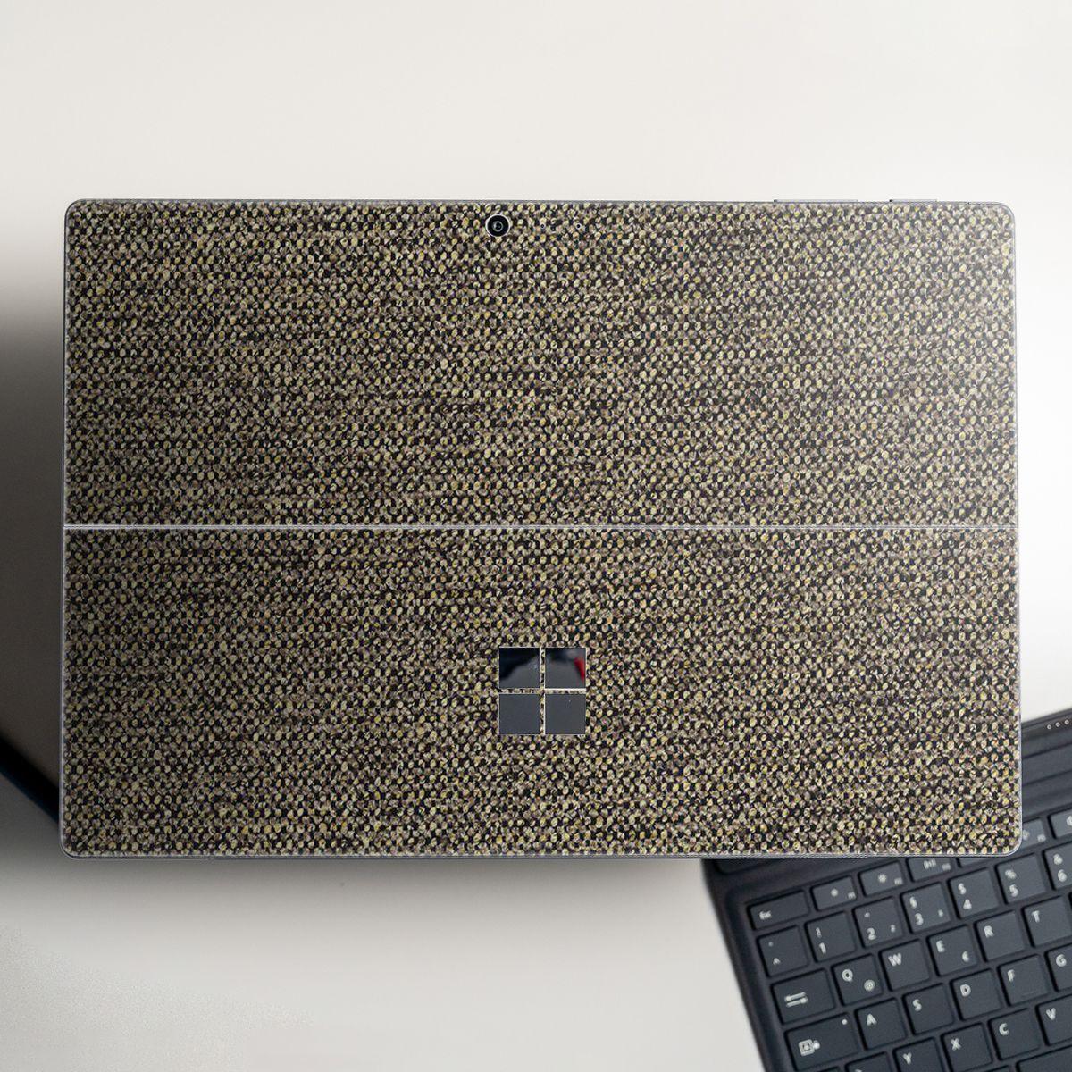 Skin dán hình vân vải cho Surface Go, Pro 2, Pro 3, Pro 4, Pro 5, Pro 6, Pro 7, Pro X