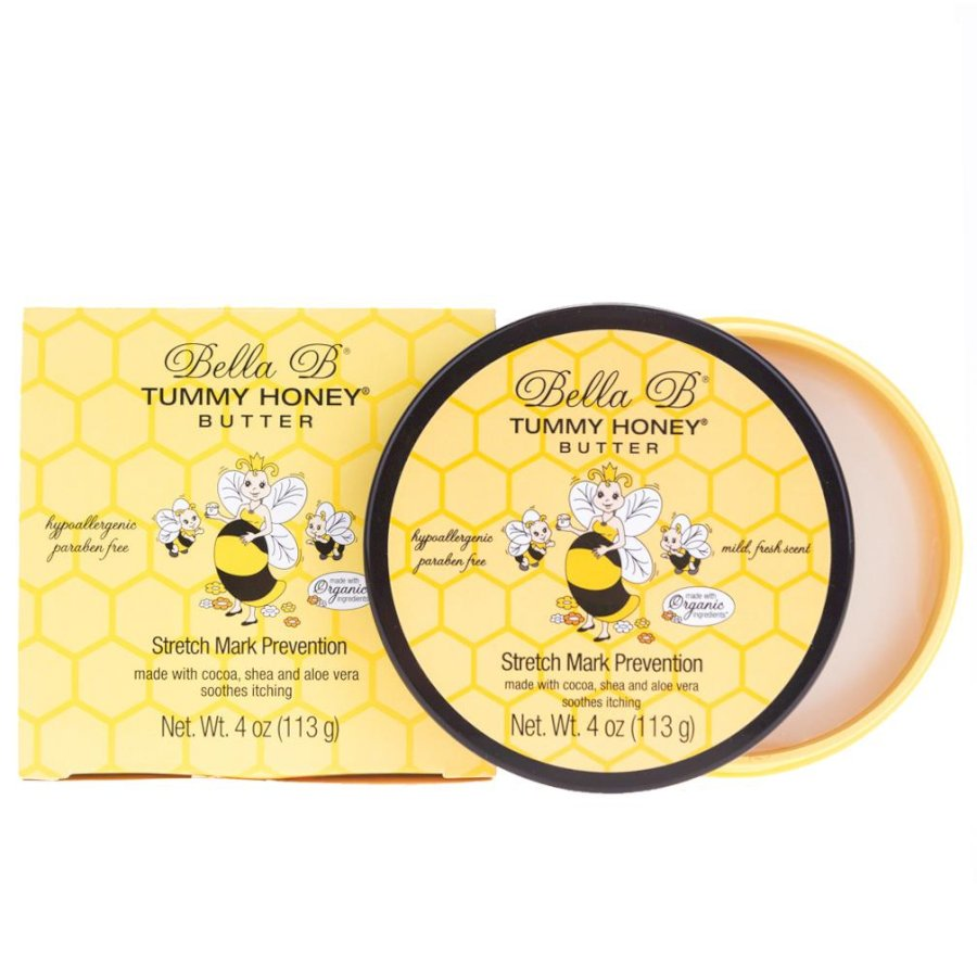 Bơ đậm đặc ngăn ngừa rạn da organic Bella B