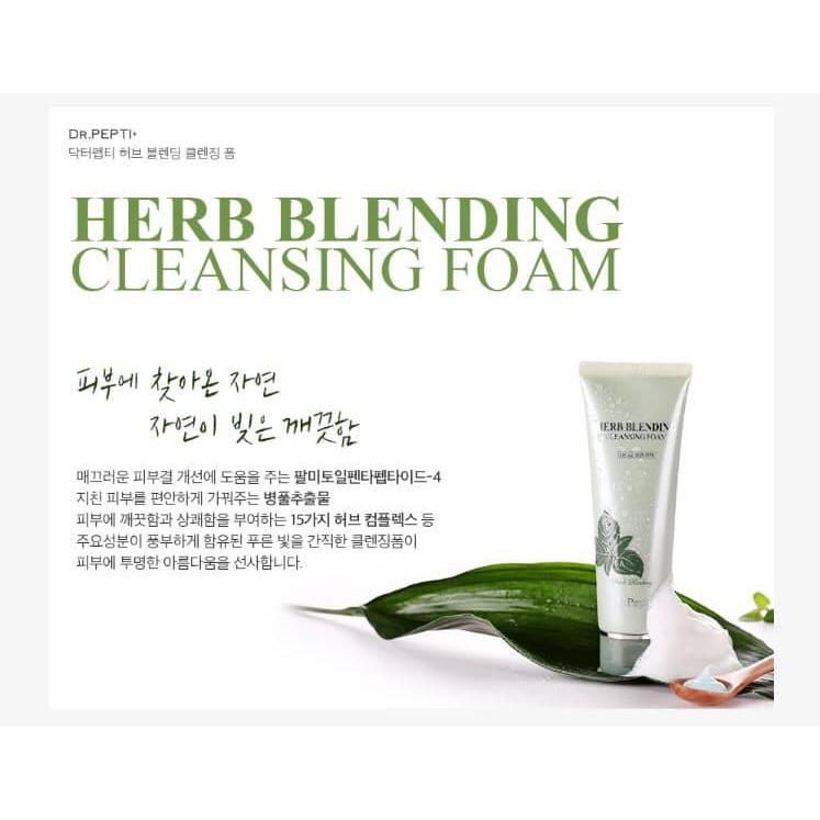 Tẩy Da Chết Mịn Và Sáng Da Dr.Pepti+ Herb Natural Peeling Gel 130ml