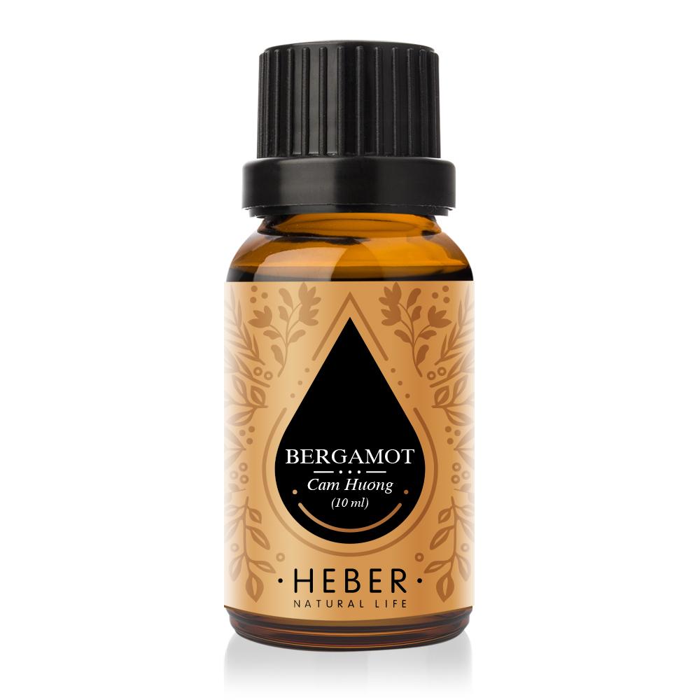 Tinh Dầu Cam Hương Bergamot Essential Oil Heber | 100% Thiên Nhiên Nguyên Chất Cao Cấp