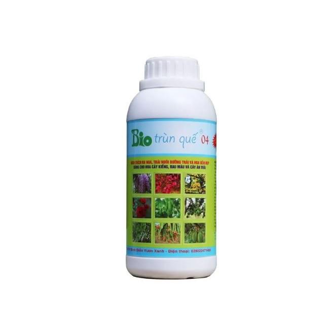 Phân bón BiO trùn quế 04 hữu cơ sinh học chuyên hoa cây kiểng rau màu cây ăn trái dùng cho thổ - thủy canh VTBIO04
