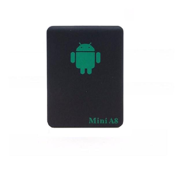 Thiết bị định vị Mini A8 gắn sim GSMGPRSGPS độ chính xác cao