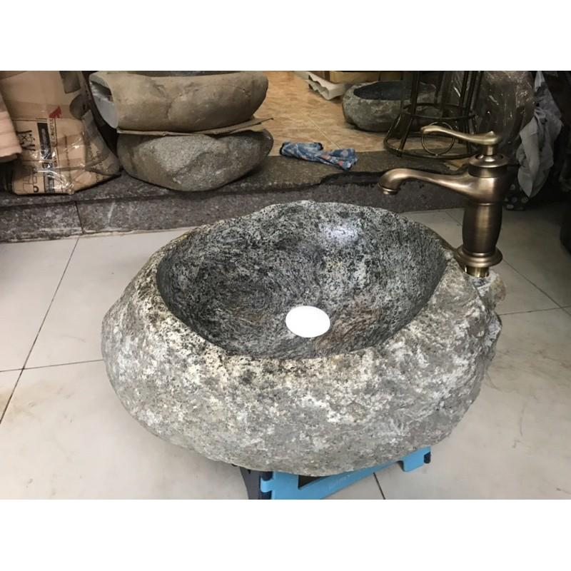 Lavabo đá chậu rửa đá Vân mây
