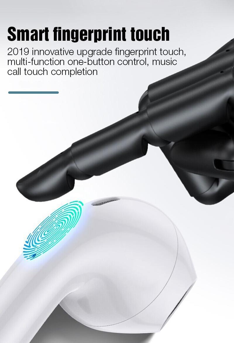 Tai Nghe Bluetooth Cảm Ứng I30 Có Pop-up Khi Kết Nối và Tỷ Lệ 1:1 Công Nghệ 5.0 - hàng chính hãng