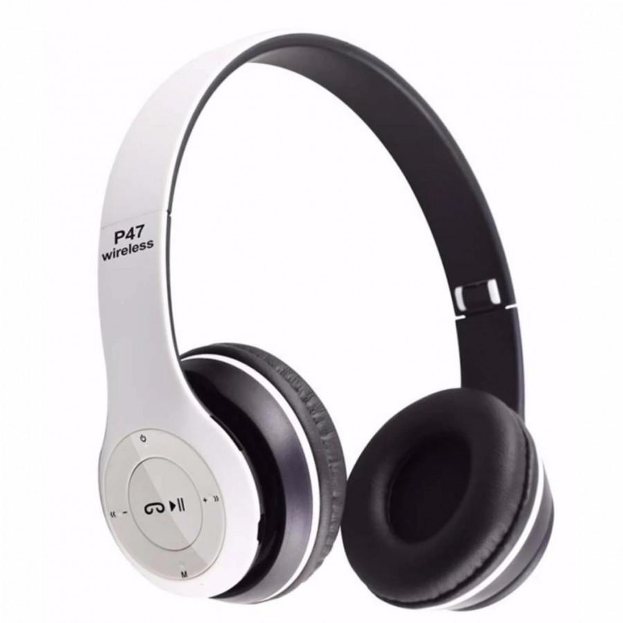 Tai Nghe Bluetooth P47 Có Khe Cắm Thẻ Nhớ