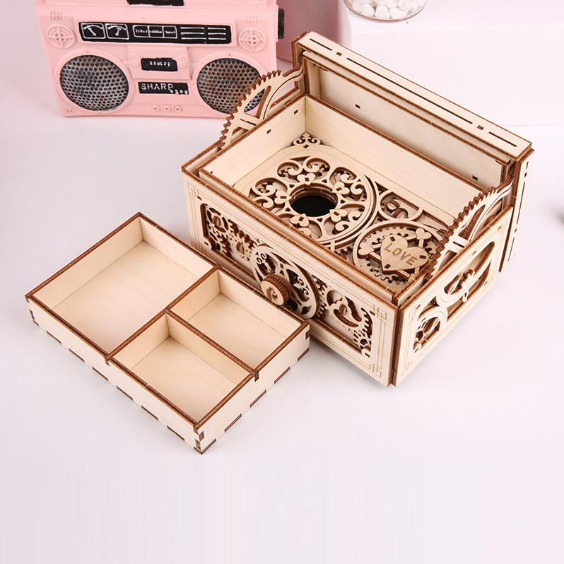 Mô hình Cơ động học Hộp Nhạc đựng Kho báu - Music Treasure Box
